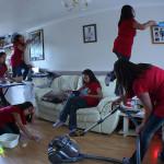 """Kako uspješno očistiti kuću dok su vam djeca """"za vratom""""?"""