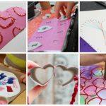 Aktivnosti za djecu povodom Valentinova – stvorite umjetnička djela sa srcima
